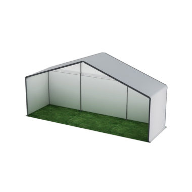 10m Wide White Stage Cover 10m x 3m