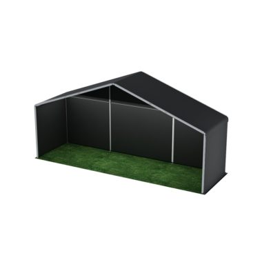 10m Wide Black Stage Cover 10m x 3m