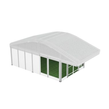10m Premium Inflated Roof Pavilion 10m x 5m