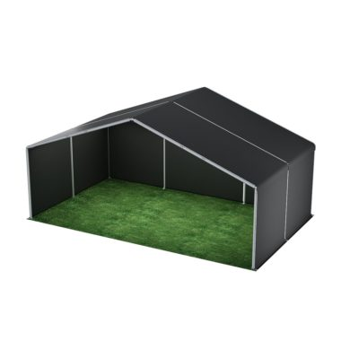 10m Wide Black Stage Cover 10m x 6m