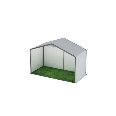 6m Wide White Stage Cover  6m x 3m