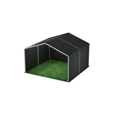 6m Wide Black Stage Cover 6m x 6m