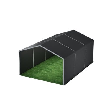 6m Wide Black Stage Cover 6m x 9m