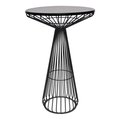 Arrow Bar Table Black