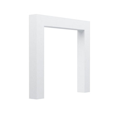 Box Cladded Arch White
