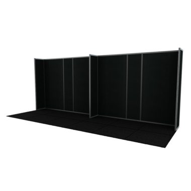 Framelock Walling  Black Frontrunner Panels
