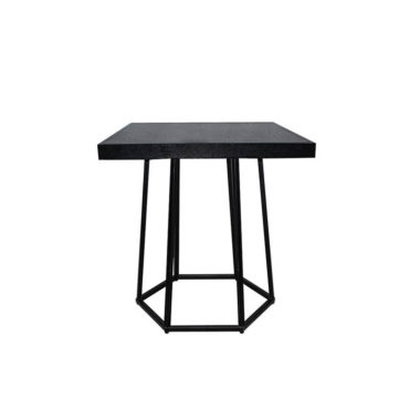 Hex Cafe Table Black/ Black