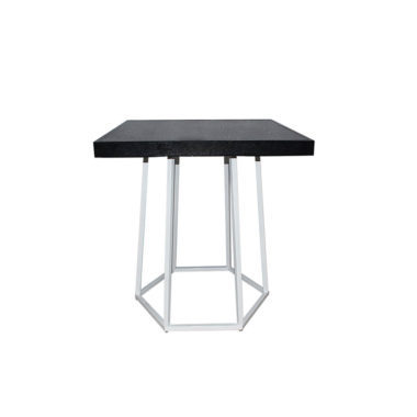 Hex Cafe Table Black/ White
