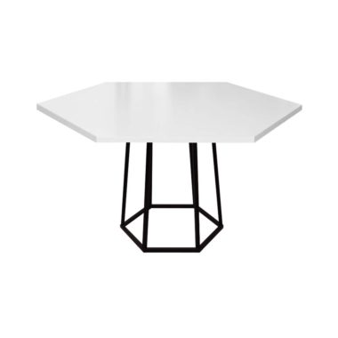 Hex Cafe Table White/ Black