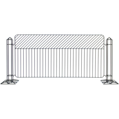 Linea Fence Black
