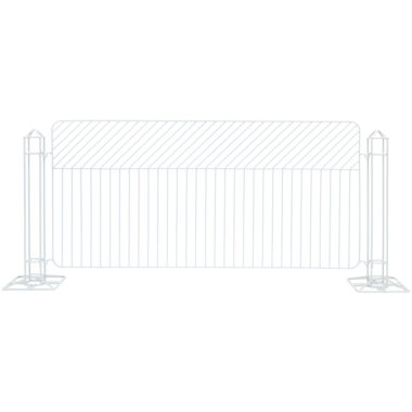 Linea Fence White