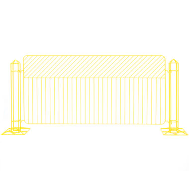 Linea Fence Yellow