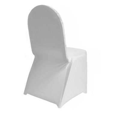 Lycra Chaircover White
