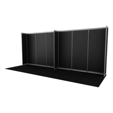Octanorm Walling Black panels