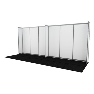 Octanorm Walling White panels