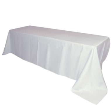 Table Cloths Linen Parties Events White Marquee