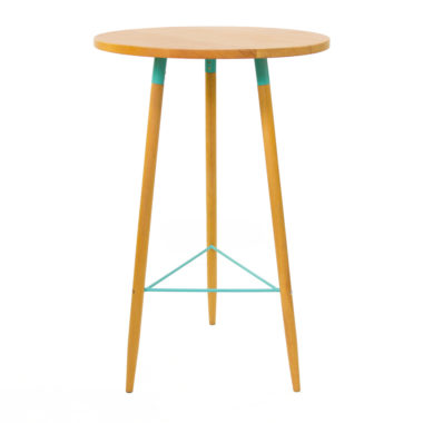 Scandi Bar Table Duck Egg