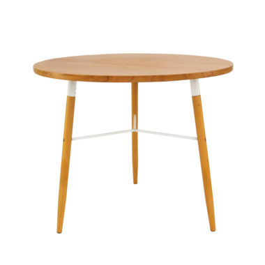 Scandi Cafe Table White