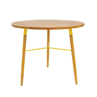Scandi Cafe Table Yellow
