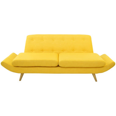 Scandi Lounge Yellow