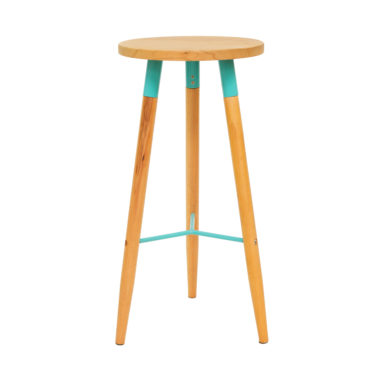 Scandi Stool Duck Egg