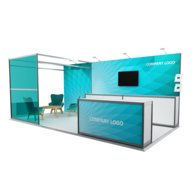 Stand Package 2 3m x 6m Back Wall