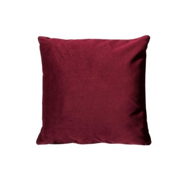 Throw Pillow Velvet Beetroot