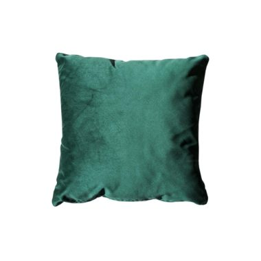 Throw Pillow Velvet Forest Green
