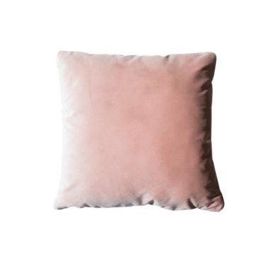 Throw Pillow Velvet Blush Pink